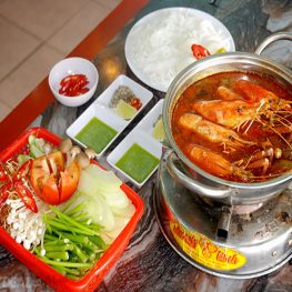 Lẩu Tôm Càng Xanh Cho 2- 3 Người